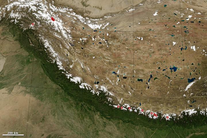 8,000-meter Peaks of the Himalaya and Karakoram - related image preview
