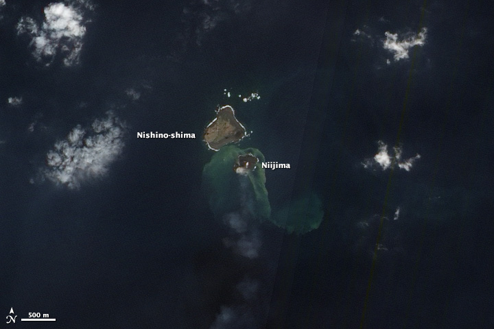 New Island in the Ring of Fire