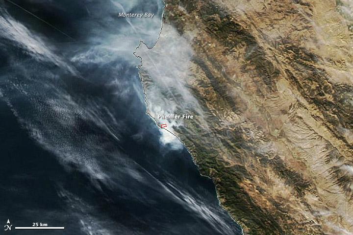Pheiffer Fire, California