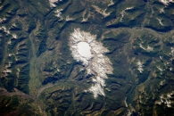 Sollipulli Caldera, Chile and Argentina