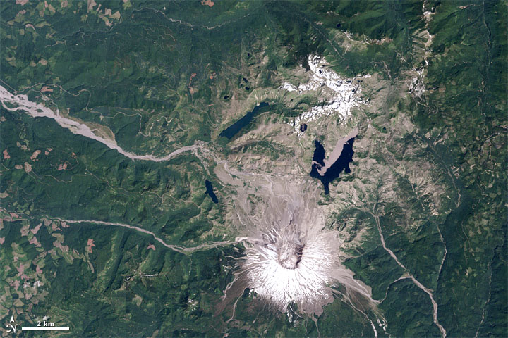 Mount St. Helens from Space, 1979-2011  - related image preview
