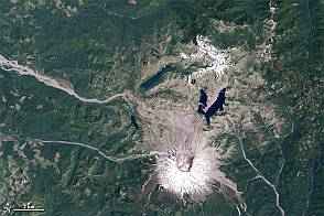 Mount St. Helens from Space, 1979-2011  - selected image