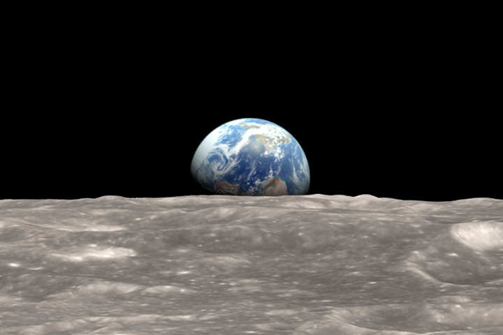 earth from the moon nasa-#14