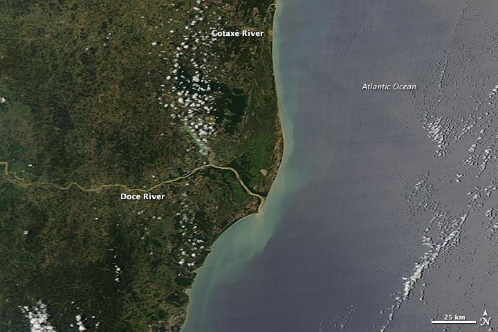Floods in Southeast Brazil