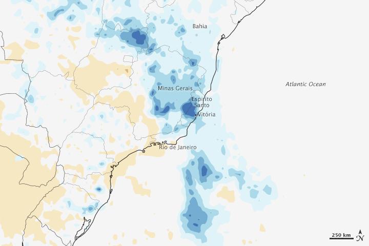 Record Rain Floods Brazil