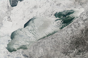 Frozen Lake Erie