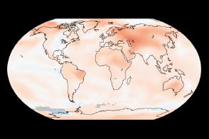 2013 Continued the Long-Term Warming Trend