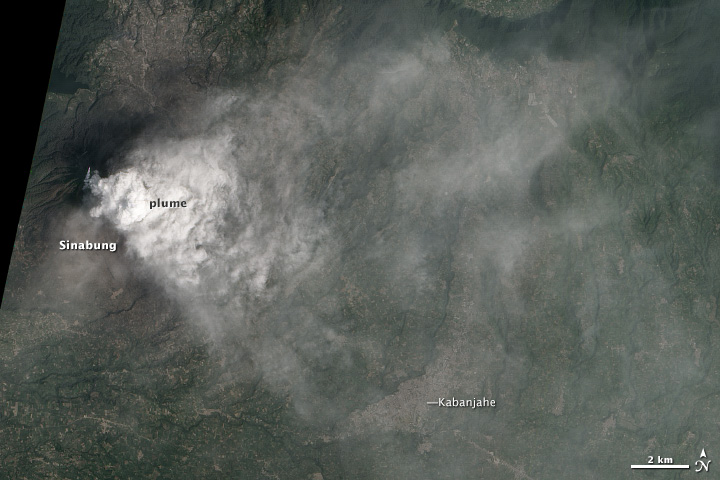 Smothering Ash Cloud from Sinabung Volcano - related image preview