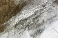 Snow and Ice in the Southeastern United States