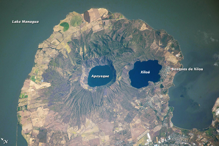 Apoyeque Volcano, Nicaragua