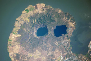 Apoyeque Volcano, Nicaragua - selected image