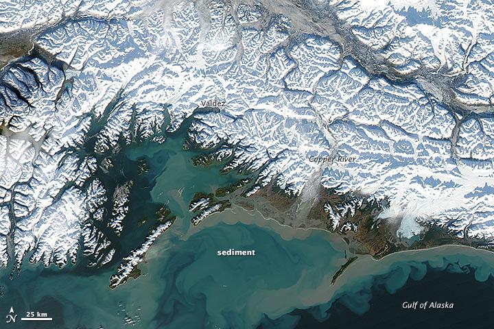 Winter Heat Swamps Alaska