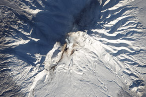 New Lava Dome Grows on Shiveluch - selected image