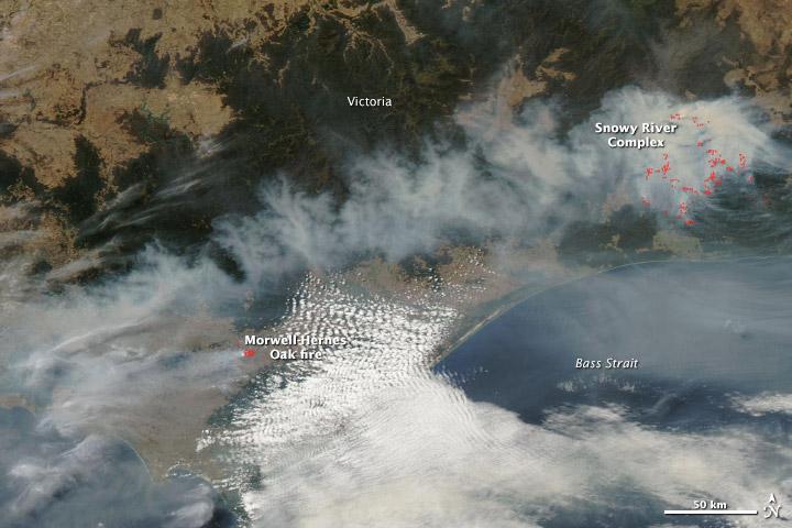 Bushfires in Southeastern Australia