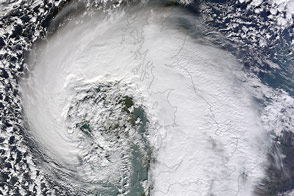 Extratropical Cyclone over the United Kingdom - selected image