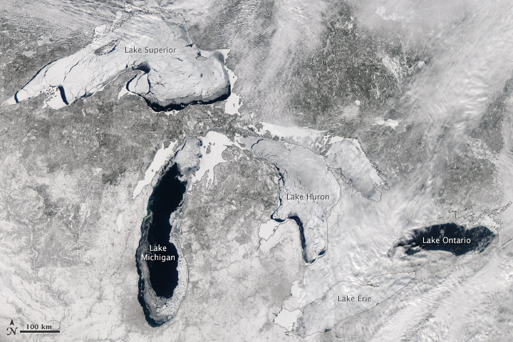 A Great Freeze Over the Great Lakes