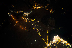 Gas Flaring in Iraq - selected image