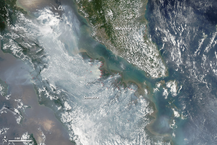 Fires in Indonesia