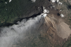Eruption of Sinabung Volcano, Indonesia - selected image