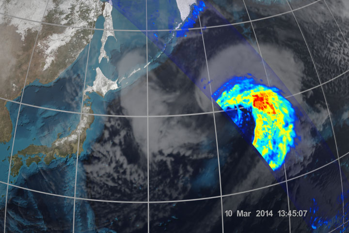 First Images from the Global Precipitation Measurement Mission - related image preview