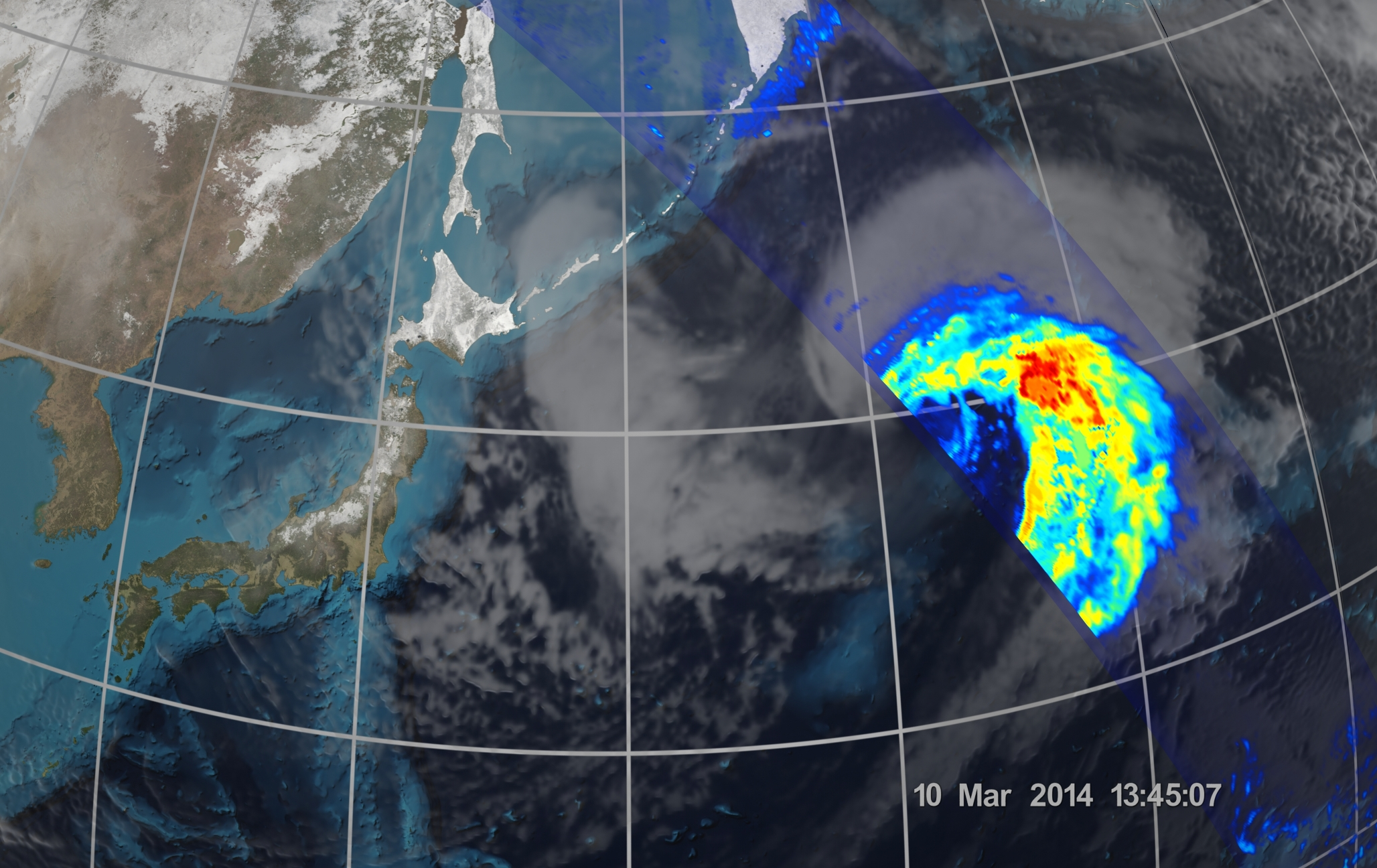 First Images from the Global Precipitation Measurement ...