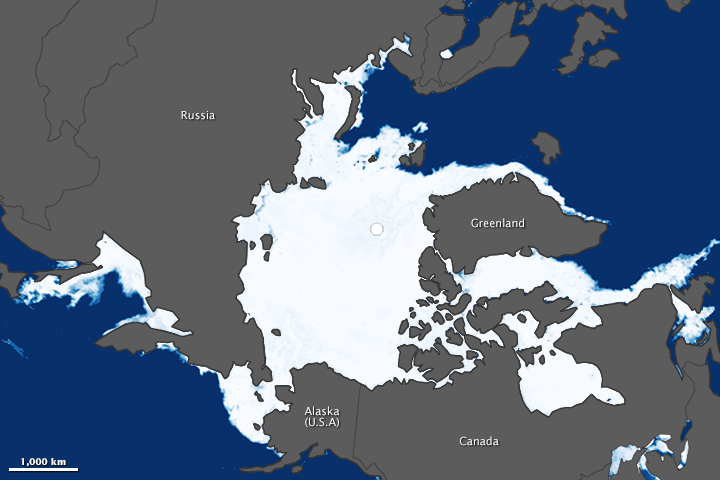 Arctic Sea Ice Maximum 2014