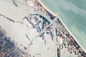 Port Aransas and the Intracoastal Waterway, Texas - selected image