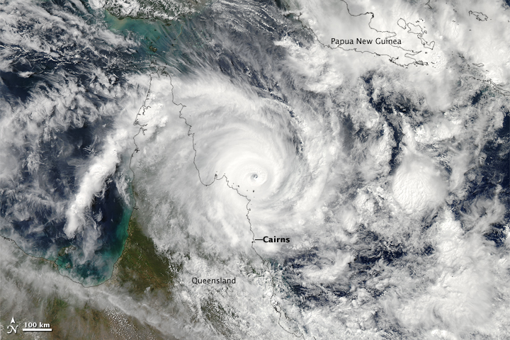 Cyclone Ita Approaching Australia - related image preview