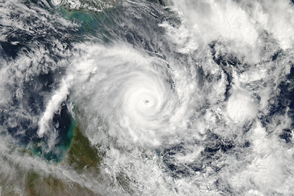 Cyclone Ita Approaching Australia - selected image