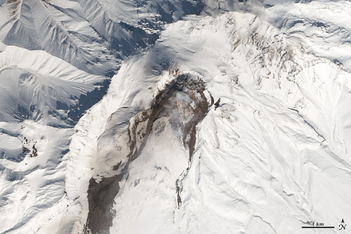 Five Volcanoes Erupting at Once - related image preview