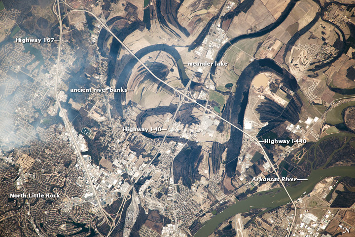Arkansas River Meanders - related image preview