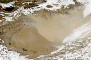 Spring Dust in China