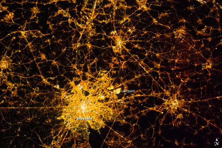 Brussels and Antwerp at Night - related image preview