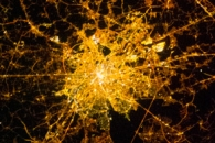 Brussels and Antwerp at Night