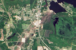 Tornado Damage in Mayflower, Arkansas - selected image