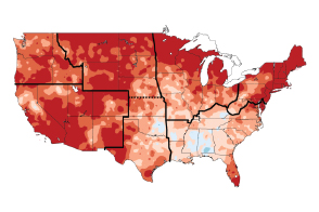 Climate Changes in the United States - selected image