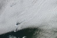 Plumes Hiding Behind the South Sandwich Islands