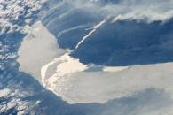 Melting Ice on Lake Baikal