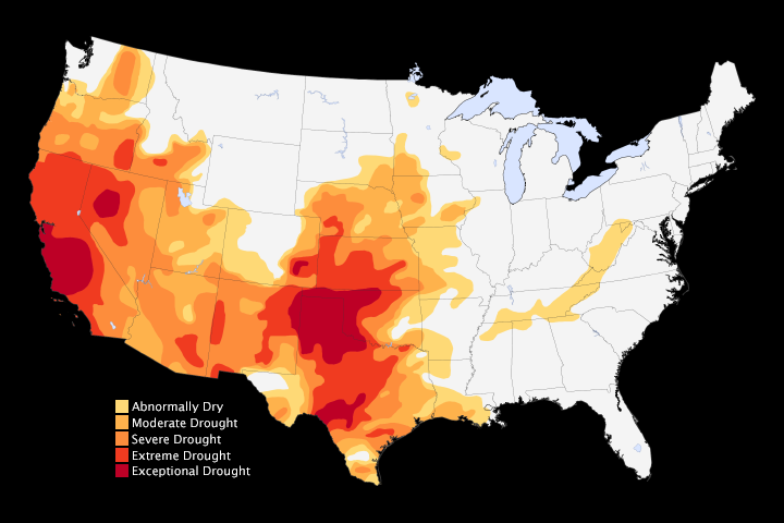 Drought Recorded Across Half of the U.S.  - related image preview