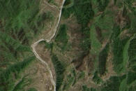 Burn Scars in North Korea