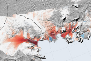 Decline of West Antarctic Glaciers Appears Irreversible - selected image