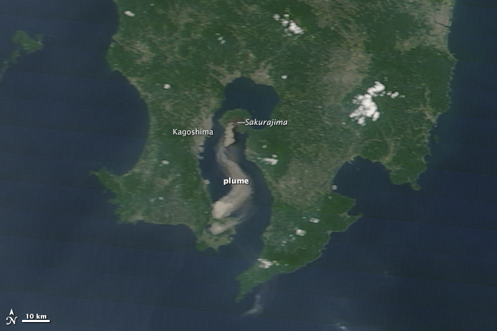 Activity at Sakurajima Volcano