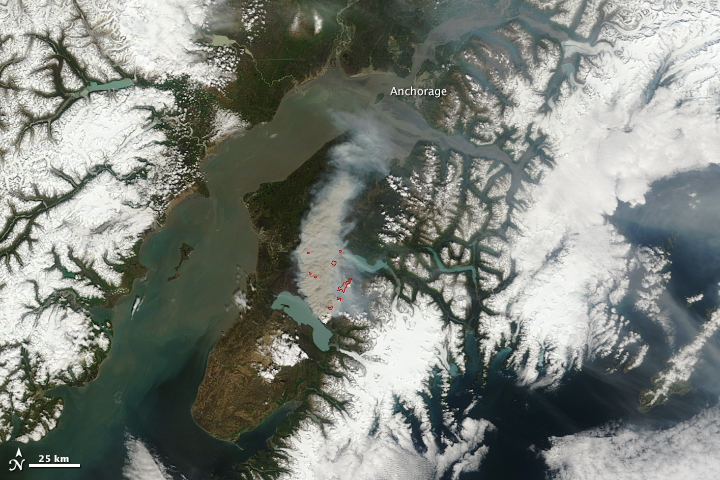 Funny River Fire, Alaska - related image preview