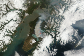 Funny River Fire, Alaska - selected image