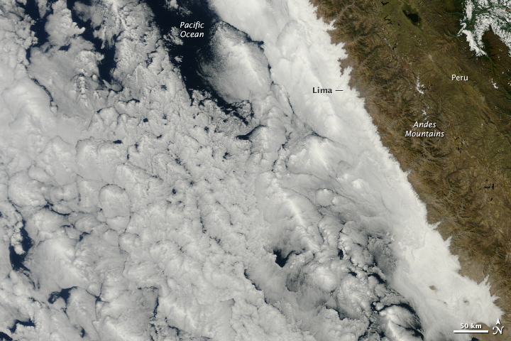 Ocean Clouds Meet Peru - related image preview