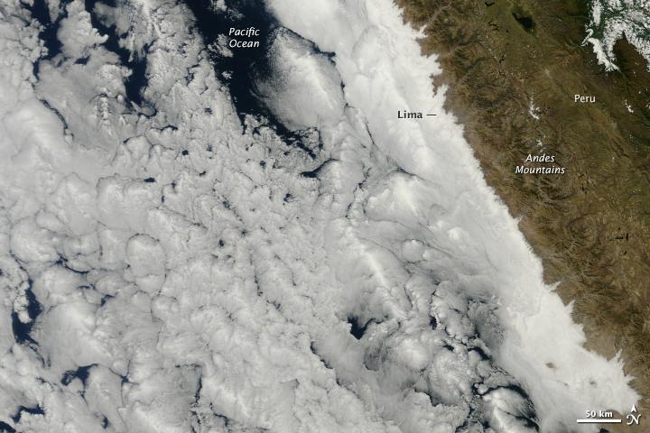 Ocean Clouds Meet Peru - related image preview
