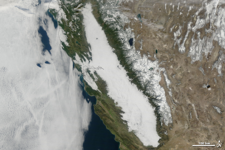 Winter Fog Becoming Rare in California  - related image preview