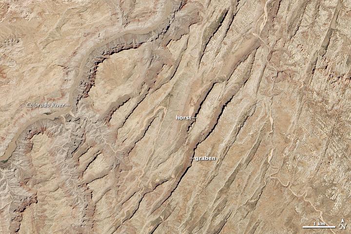 Canyonlands' Grabens