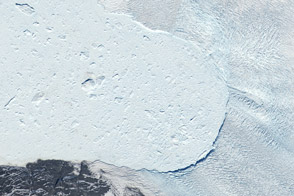 Retreat of Jakobshavn Glacier, Greenland - selected image