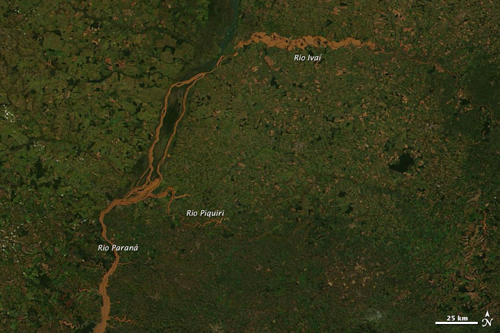 Floods in Southern Brazil